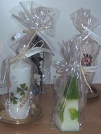 Handgemachte Kerzen